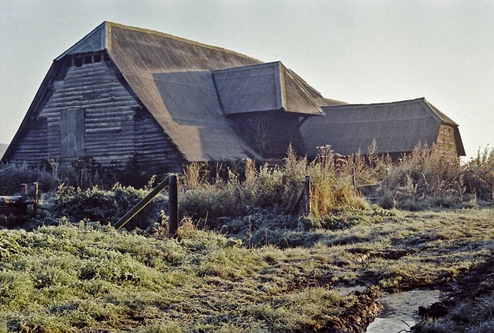 Barn On A Frosty Morning by Shadowfax