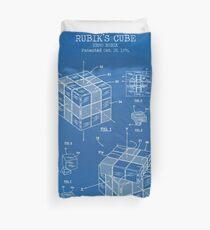 Rubik Cube Duvet Cover