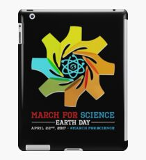 March for Science earth day 2017 iPad Case/Skin