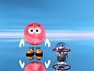 Mr Red Bubble and Pet Suds by jewelskings