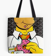Homer Simpson with Goyard Tote Bag