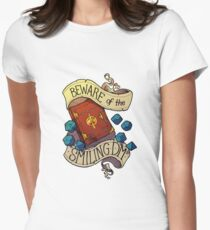 Beware of the Smiling Dungeon Master Women's Fitted T-Shirt