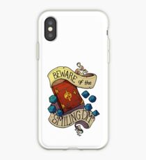 Beware of the Smiling Dungeon Master iPhone Case