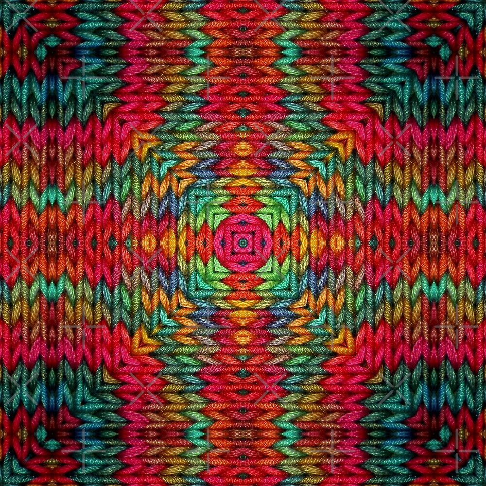 Knitter 2 by Yampimon