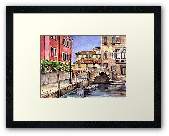 Venice Pen & Wash by Farida Greenfield