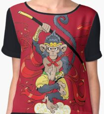 Monkey King Chiffon Top