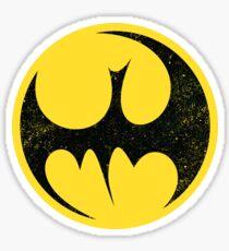 Bat Fist Sticker