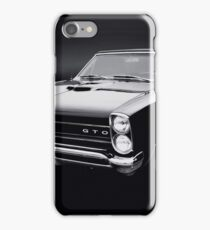 1965 Pontiac GTO iPhone Case/Skin
