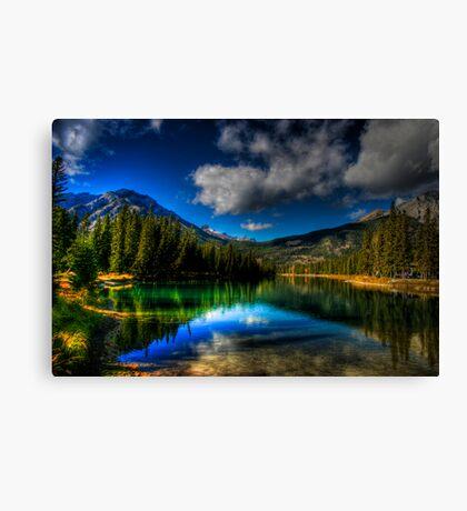 Alpine Oasis Canvas Print
