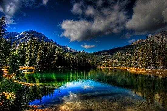 Alpine Oasis by Kevin  Kroeker