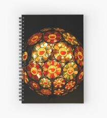 Happy Faces Light Spiral Notebook
