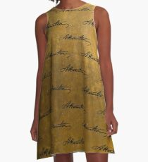 Hamilton Repeating Pattern A-Line Dress