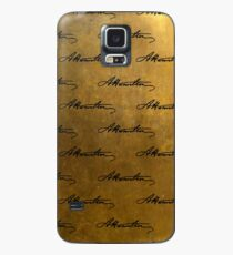 Hamilton Repeating Pattern Case/Skin for Samsung Galaxy
