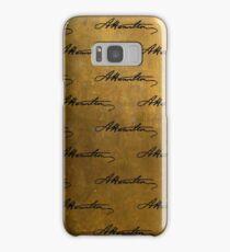 Hamilton Repeating Pattern Samsung Galaxy Case/Skin