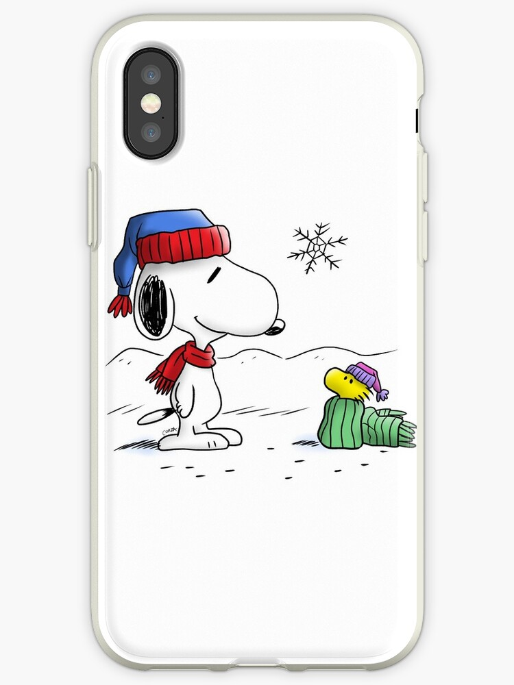 Winter Snoopy Woodstock Peanuts Iphone Cases Covers By