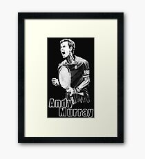 Andy murray Framed Print
