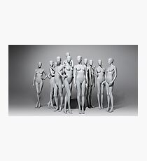 The Real Mannequin Challenge Photographic Print