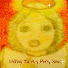 A  Fuzzy Little Xmas Angel by MardiGCalero