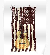 Póster Guitarra acustica