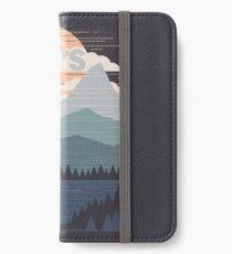 Lass uns gehen iPhone Flip-Case/Hülle/Klebefolie