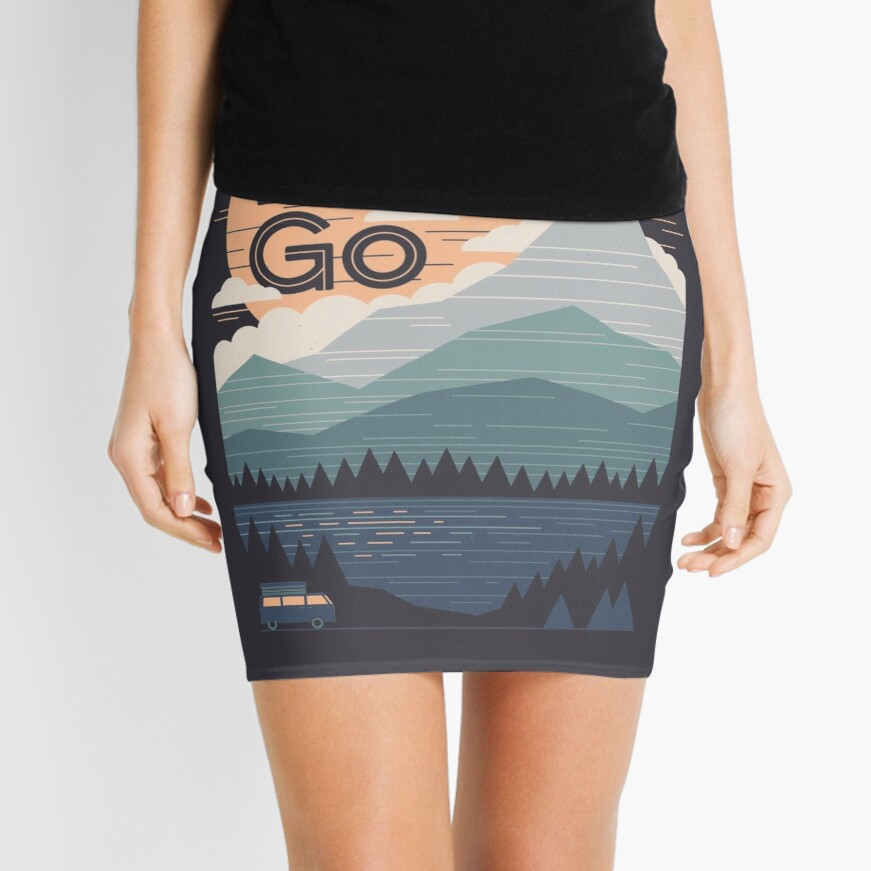 Let's Go Mini Skirt