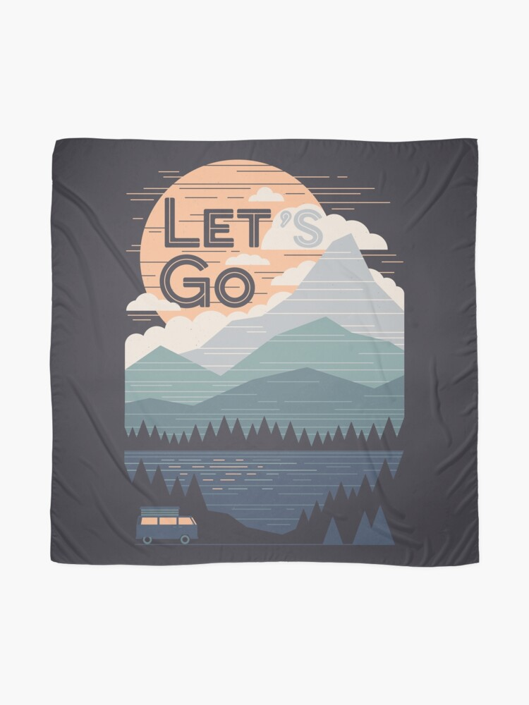 Alternate view of Let's Go Scarf