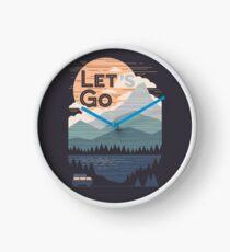 Let's Go Clock