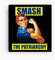 You Can Smash the Patriarchy Canvas Print