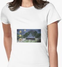 Temple Of Wisdom Women's Fitted T-Shirt