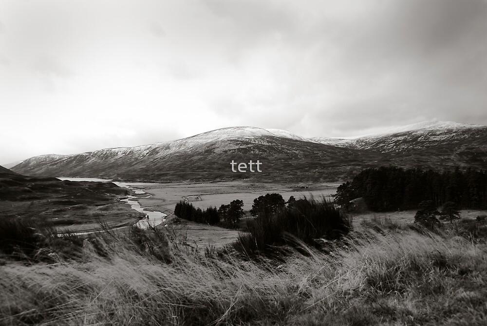 Scottish Highlands by tett