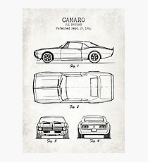 Camaro Photographic Print