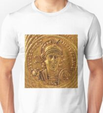 Gold Solidus of Constantine II Byzantine Unisex T-Shirt