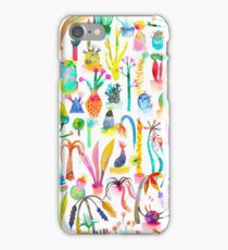 Lush and dreamy cacti garden iPhone Case/Skin
