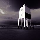 The Old Lighthouse (duotone) by Nigel Dourley