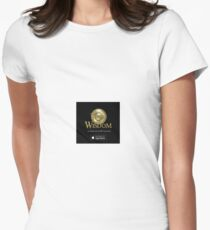 Temple Logo Women's Fitted T-Shirt