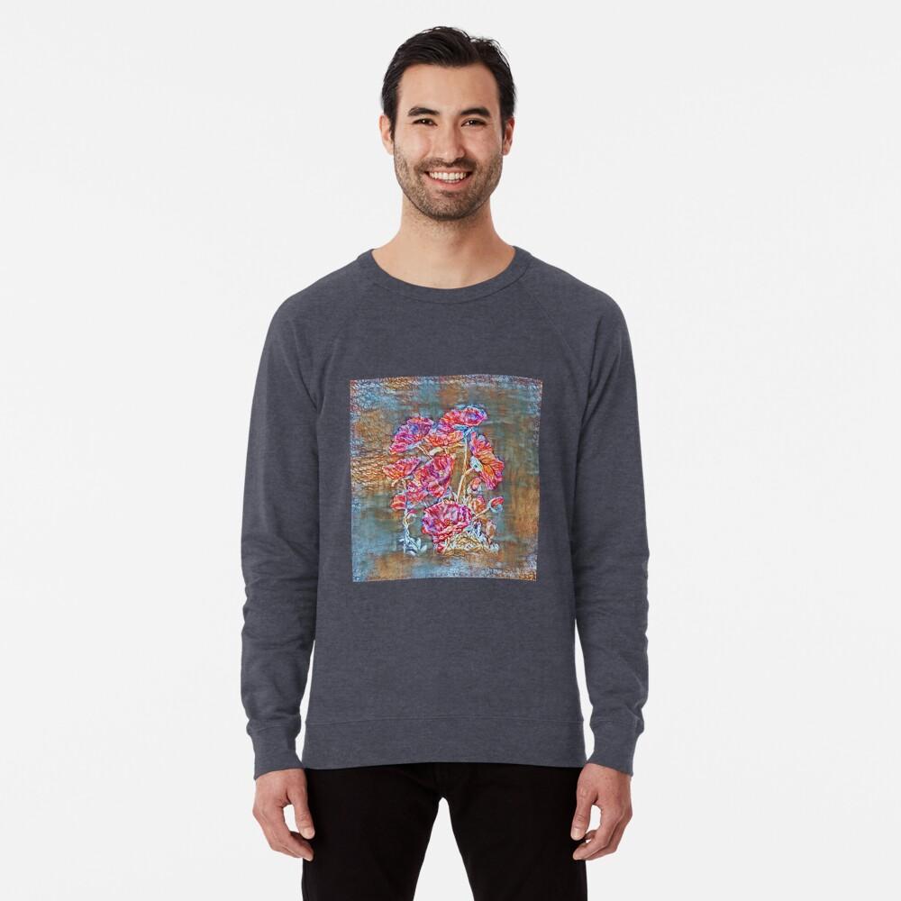 Poppies Lightweight Sweatshirt