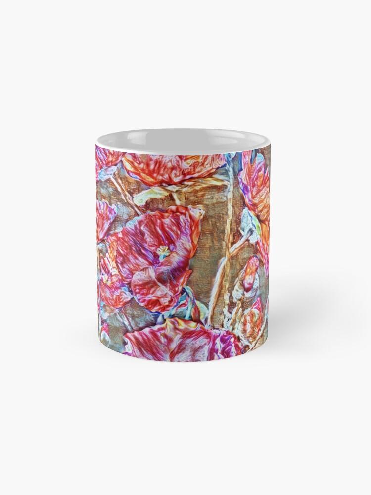 Alternate view of Poppies Mug