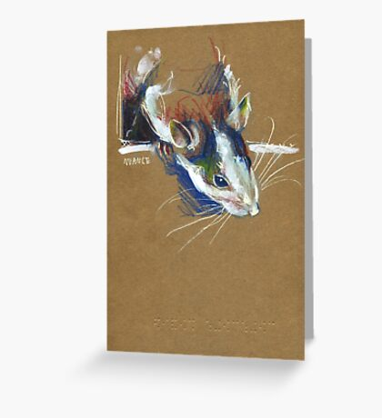 Ketamine the rat Greeting Card