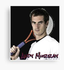 andy murray Canvas Print