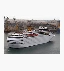Cruise Liner Photographic Print