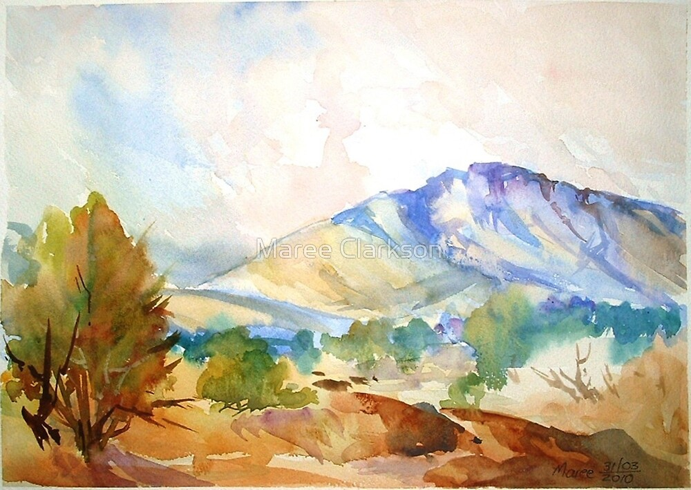 Magaliesberg Mountains by Maree Clarkson