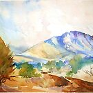 Magaliesberg Mountains by Maree Clarkson