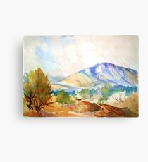 Magaliesberg Mountains Canvas Print