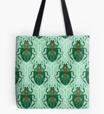 Green Beetle Tote Bag