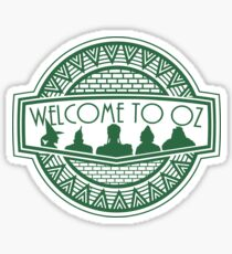 Welcome to Oz Sticker