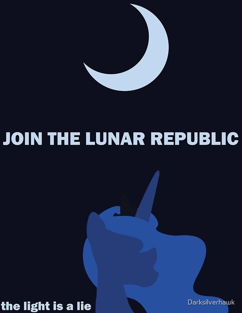 Lunar Republic Recruitment by Darksilverhawk