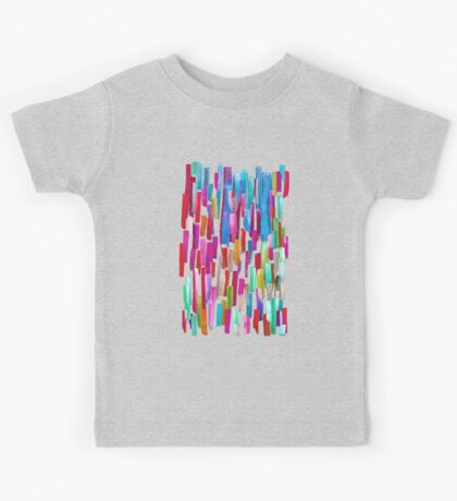 Multicolored watercolor stripes pattern Kids Clothes