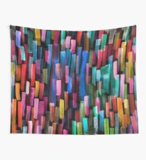 Multicolored watercolor stripes pattern Wall Tapestry