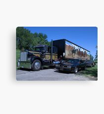 Smokey and the Bandit Replica Vehicles Canvas Print