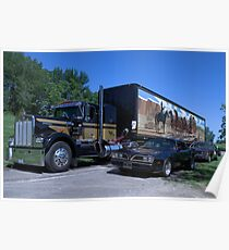 Smokey and the Bandit Replica Vehicles Poster